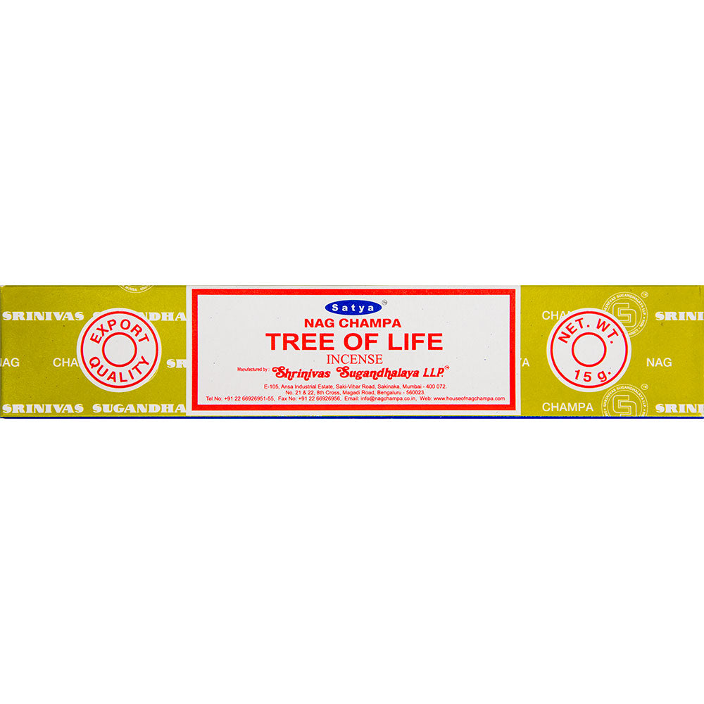 Satya Tree of Life Incense Sticks