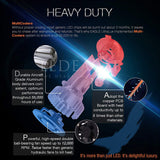 LED EAGLE DiamondVision H13/9008 LED Headlight Bulbs for Snowmobiles - LED EAGLE CANADA
