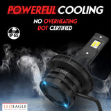 LED EAGLE PowerVision II 9007(HB5) LED Headlight Bulbs - LED EAGLE CANADA