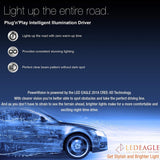 LED EAGLE PowerVision H3 LED Headlight Bulbs - LED EAGLE CANADA