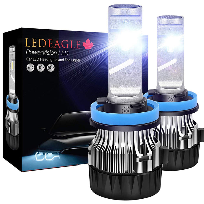 PowerVision LED Top of line technology ideal for drivers upgrading from halogen bulbs to LED bulbs - LED EAGLE CANADA