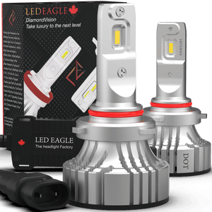 LED EAGLE DiamondVision 9007(HB5) LED Headlight Bulbs - LED EAGLE CANADA