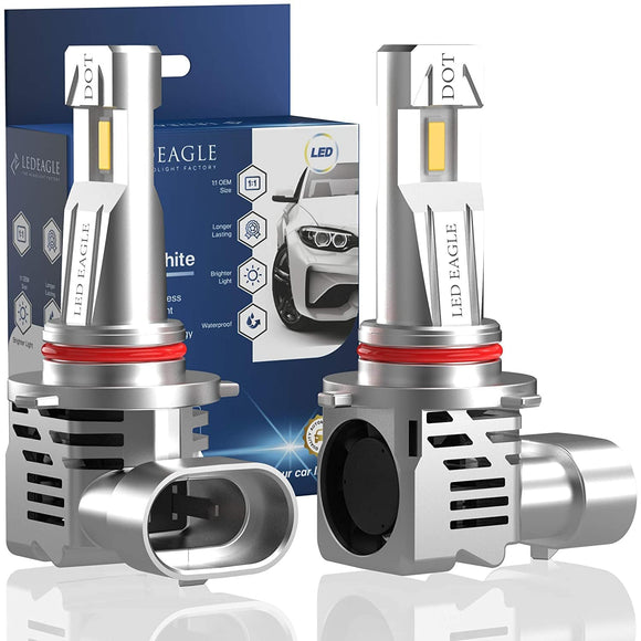 LED EAGLE VisionPro ll 9005(9006/H10/HB3/HB4/9140/9145) LED Headlight Bulbs & TIPM Bundles - LED EAGLE CANADA