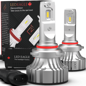 LED EAGLE DiamondVision 9006(HB4) LED Headlight Bulbs for Honda - LED EAGLE CANADA