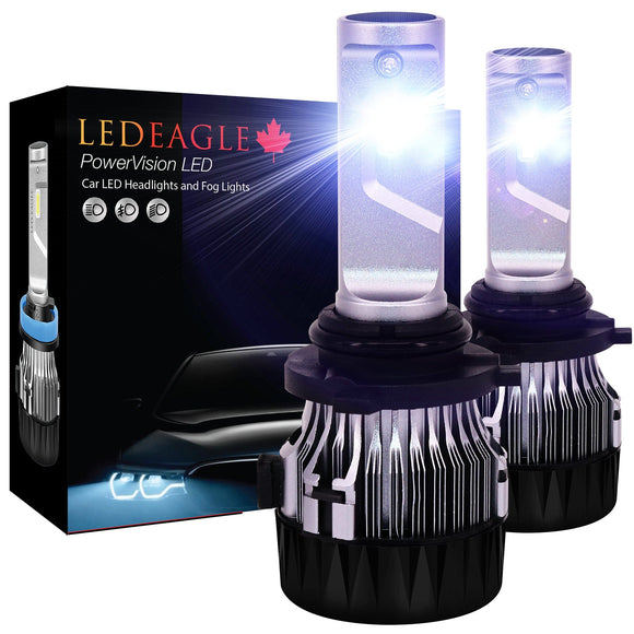 LED EAGLE PowerVision 9006(HB4) LED Headlight Bulbs - LED EAGLE CANADA