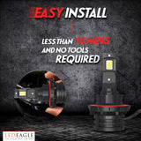 LED EAGLE PowerVision II H4(9003/HB2) LED Headlight Bulbs - LED EAGLE CANADA