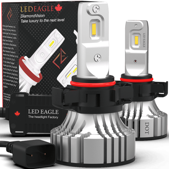 LED EAGLE DiamondVision PSX24W(PSX24/2504) LED Headlight Bulbs - LED EAGLE CANADA