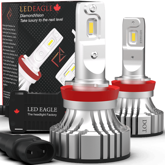 LED EAGLE DiamondVision H11(H8/H9/H16) LED Headlight Bulbs - LED EAGLE CANADA