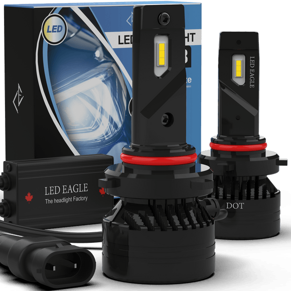 LED EAGLE DiamondVision II 9007(HB5) LED Headlight Bulbs & TIPM Bundles - LED EAGLE CANADA
