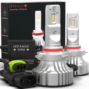 LED EAGLE DiamondVision H10(9140/9145) LED Headlight Bulbs & TIPM Bundle - LED EAGLE CANADA