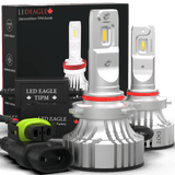 LED EAGLE DiamondVision H10(9140/9145) LED Headlight Bulbs & TIPM Bundle for RAM - LED EAGLE CANADA
