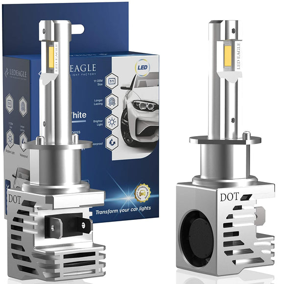 LED EAGLE VisionPro H3 LED Headlight Bulbs - LED EAGLE CANADA