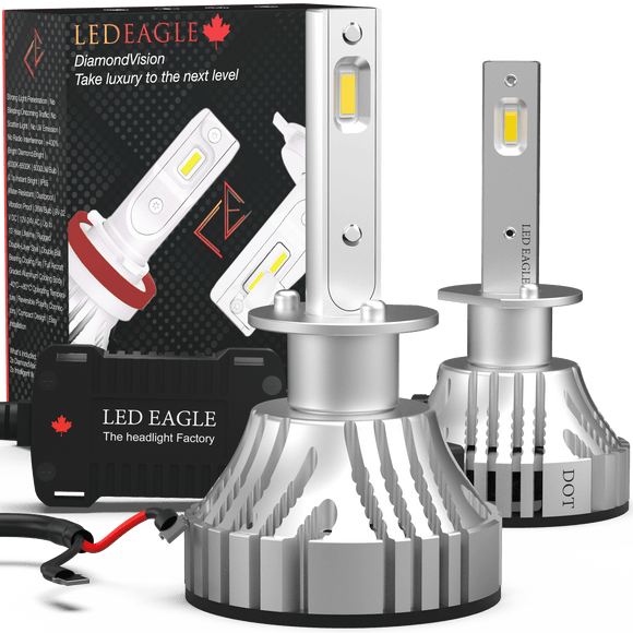 LED EAGLE DiamondVision H3 LED Headlight Bulbs - LED EAGLE CANADA