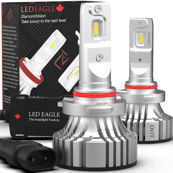 LED EAGLE DiamondVision H10(9140/9145) LED Headlight Bulbs for Toyota - LED EAGLE CANADA