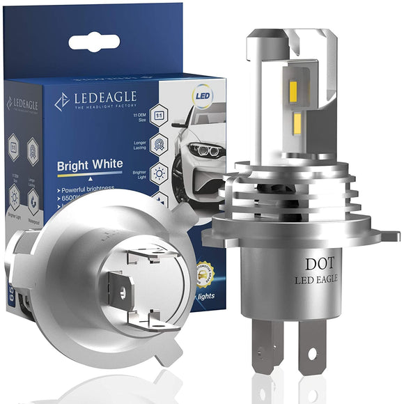 LED EAGLE VisionPro ll H4(9003/HB2) LED Headlight Bulbs - LED EAGLE CANADA