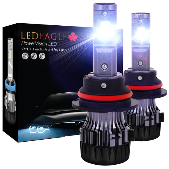 LED EAGLE PowerVision 9007(HB5) LED Headlight Bulbs - LED EAGLE CANADA