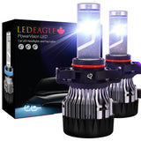 LED EAGLE PowerVision PSX24W(PSX24/2504) LED Headlight Bulbs - LED EAGLE CANADA
