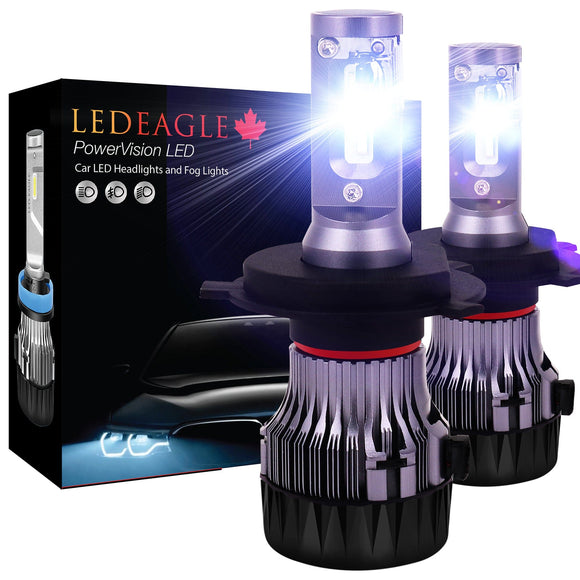 LED EAGLE PowerVision H4(9003/HB2) LED Headlight Bulbs for Snowmobiles - LED EAGLE CANADA
