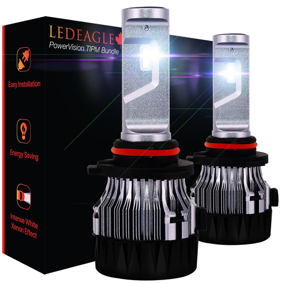 LED EAGLE PowerVision H10(9140/9145) LED Headlight Bulbs & TIPM Bundle - LED EAGLE CANADA
