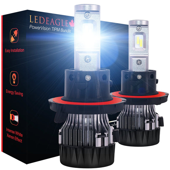 LED EAGLE PowerVision H13(9008) LED Headlight Bulbs & TIPM Bundle - LED EAGLE CANADA
