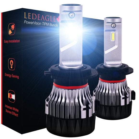 LED EAGLE PowerVision H7 LED Headlight Bulbs & TIPM Bundle - LED EAGLE CANADA