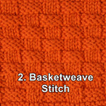 Load image into Gallery viewer, Textured Knitting Stitch Pattern