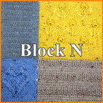 Load image into Gallery viewer, Textured Sampler Blanket Knit-A-Long