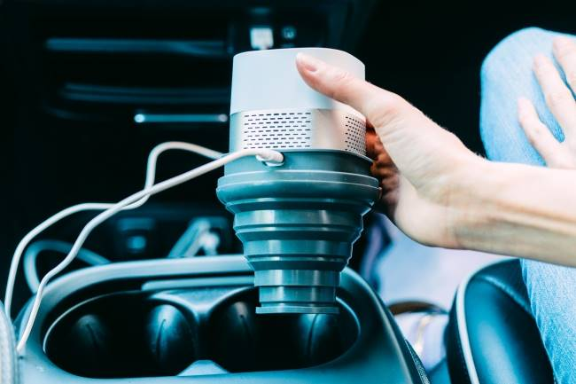 Luft-Cube-Car-Cup-Holder