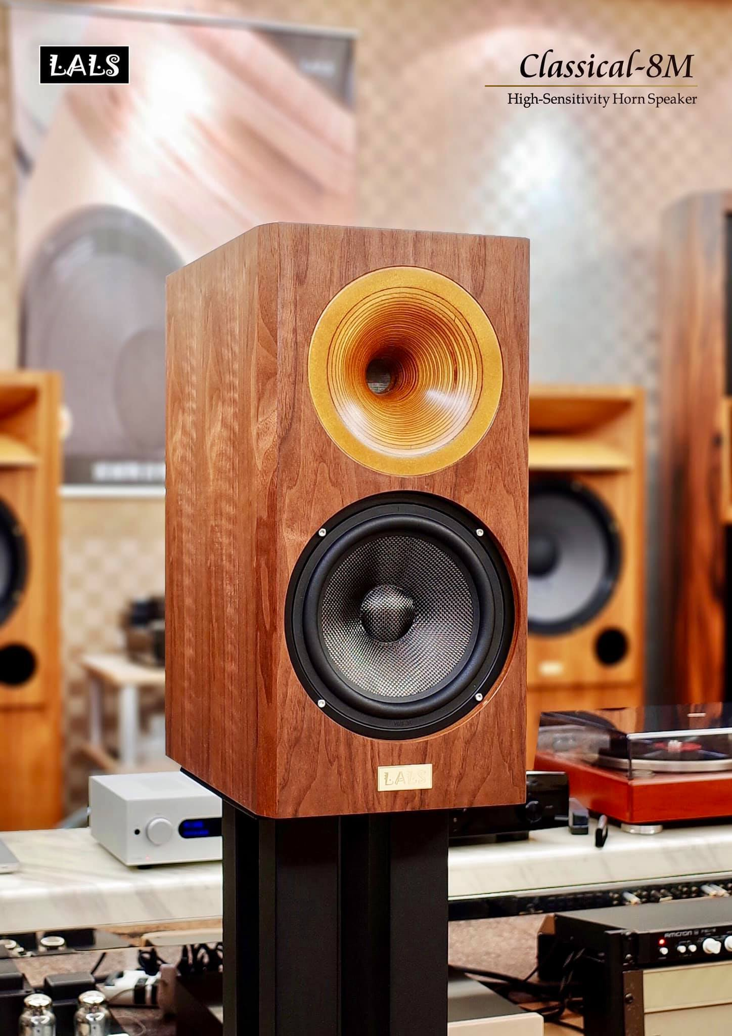 LALS Classical 8M Bookshelf Speakers