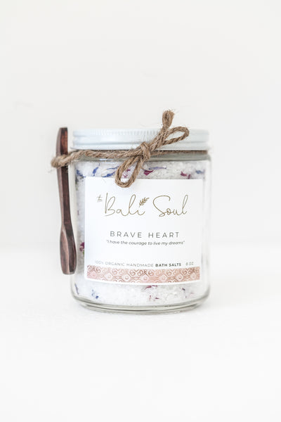 Brave Heart Bath Salts