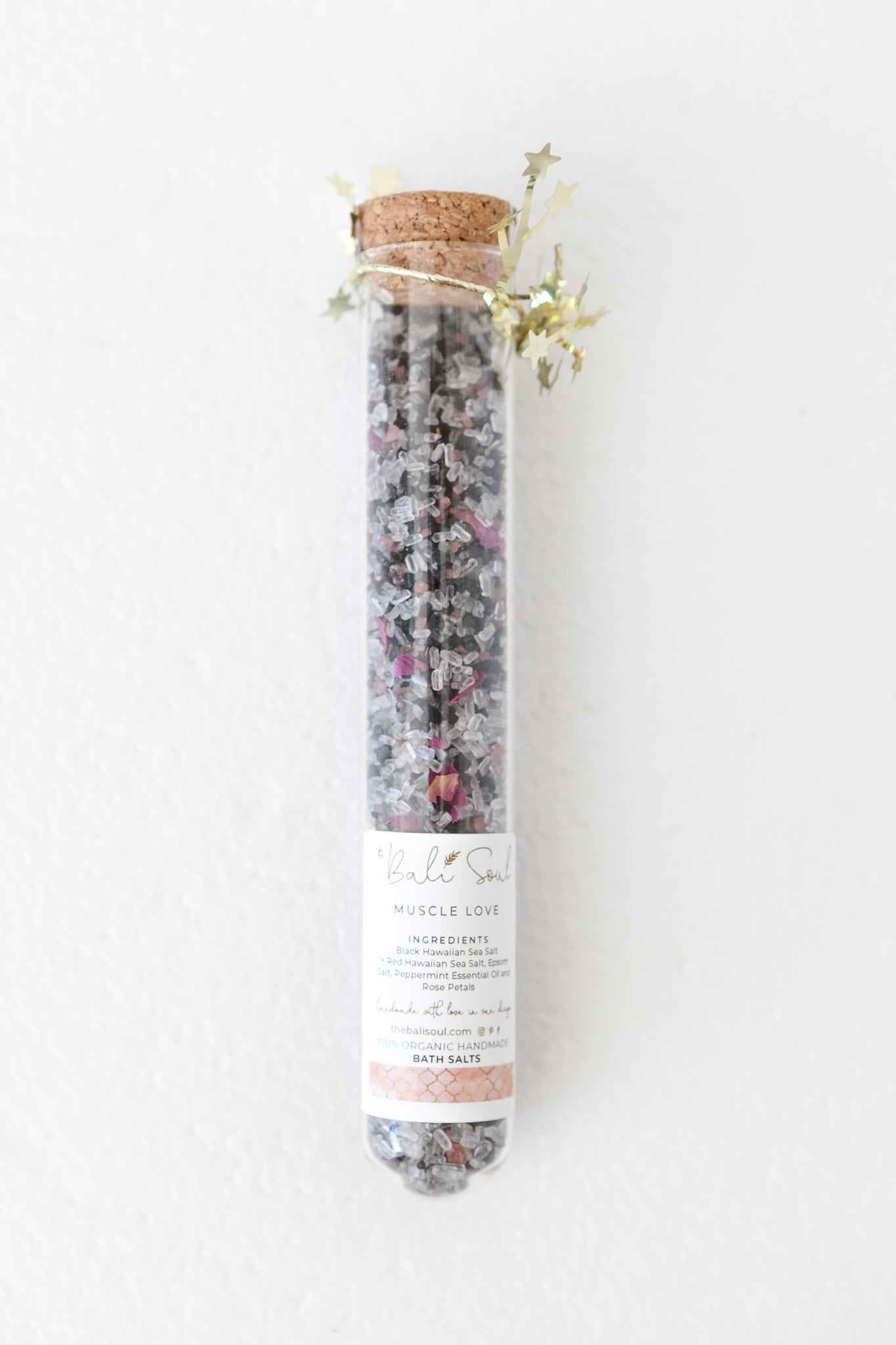Muscle Love Test Tube Bath Salts