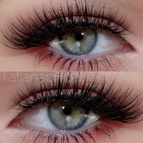 Allure mink lashes by Dark Swan of Denmark