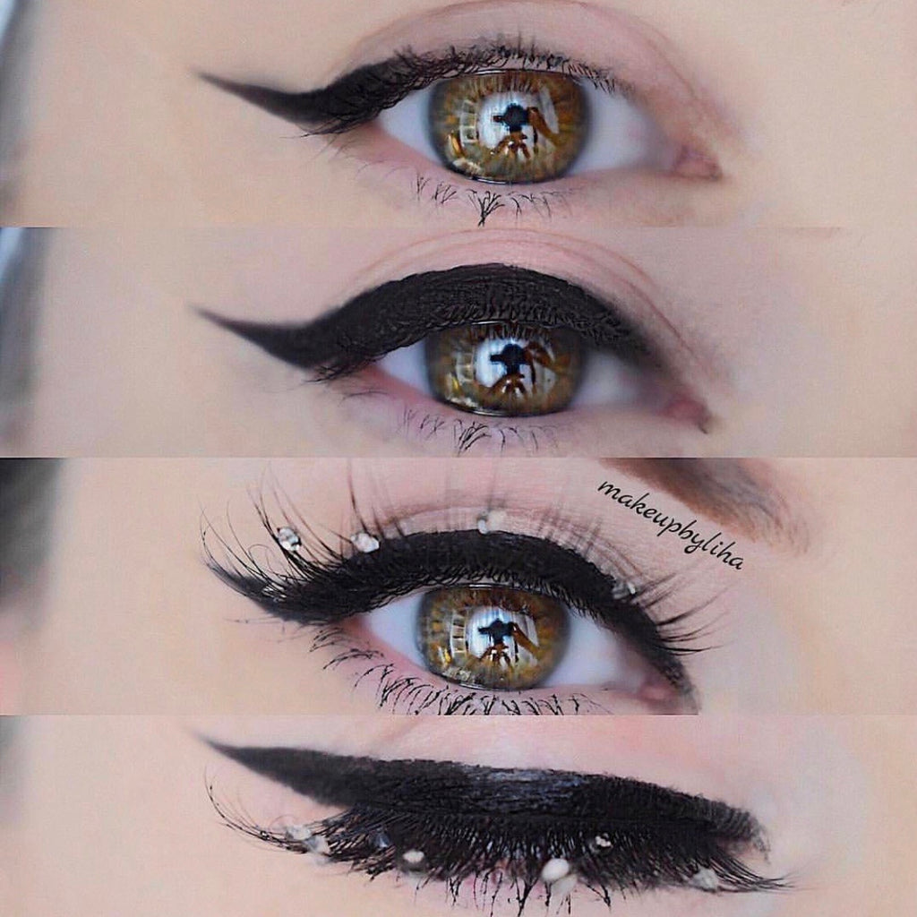 """Lust"" crystallised lashes"