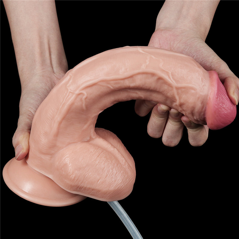 "10"" Soft Realistic Squirting dildo"
