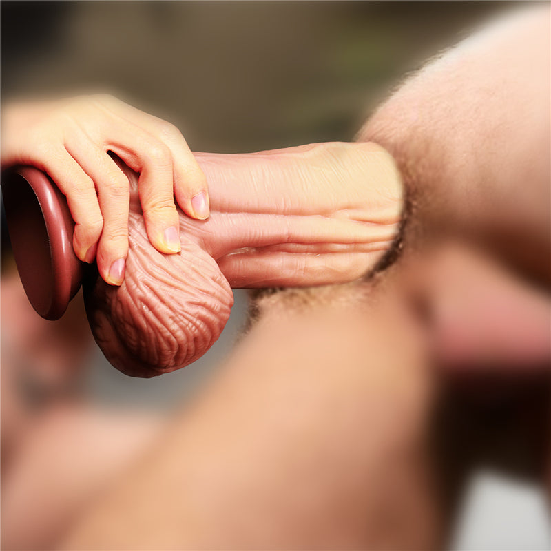 10 Inch Monster Silicone Dildo with Dual Density