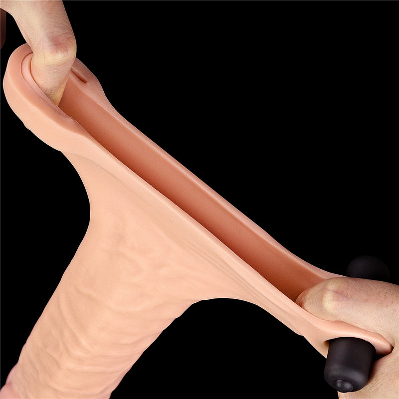 Pleasure X Tender Vibrating Penis Sleeve