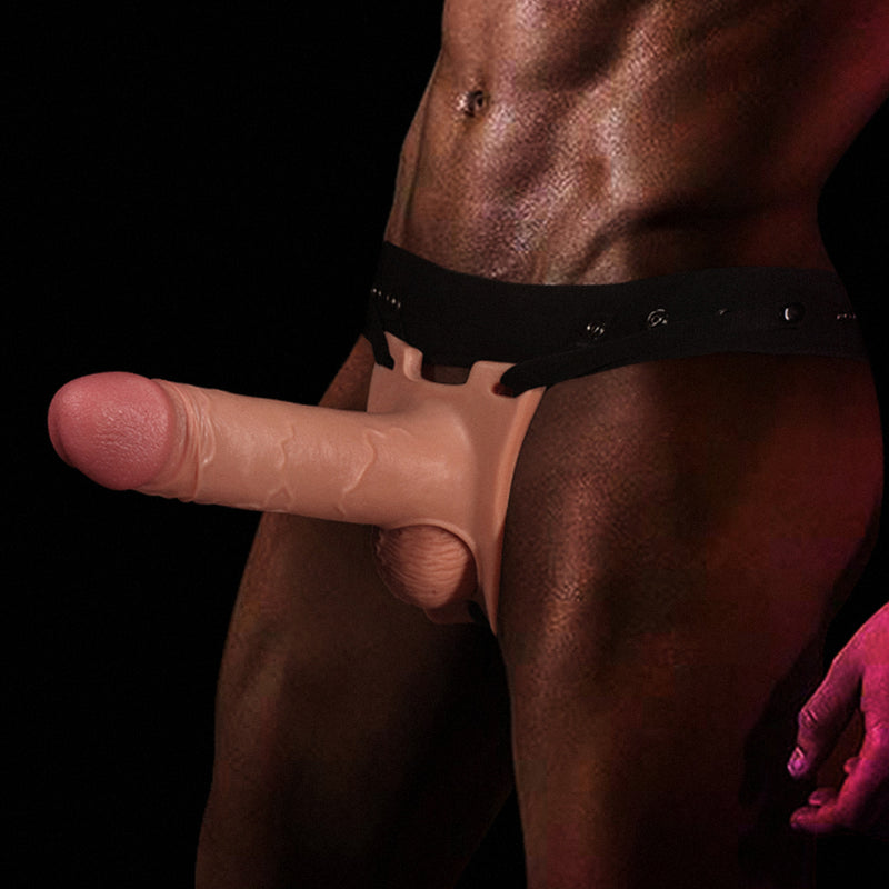 hollow strap on dildo