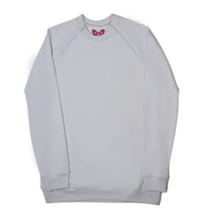 French Terry Sweatshirt in Grey