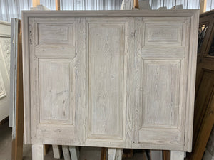 Queen Headboard made with French Door Panels