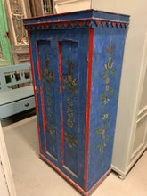 Load image into Gallery viewer, Hand Painted Eastern European Cupboard
