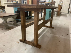 Butcher Slab Console Table