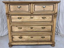 Load image into Gallery viewer, Antique Pine Chest of Drawers