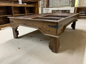Coffee Table made from Teak Window Unit