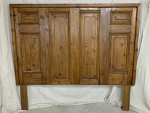 Load image into Gallery viewer, King Headboard made of French Door Panels