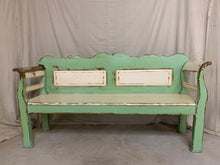 Load image into Gallery viewer, 1880's European Pine Painted Bench