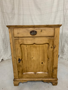 Pine Base Cabinet- Single Door (Rare Size)