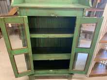 Load image into Gallery viewer, Teak Glass Front Cabinet