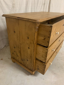 European Pine Chest of Drawers