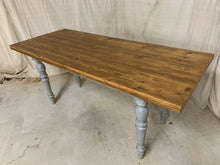 Load image into Gallery viewer, Pine European Farm Table