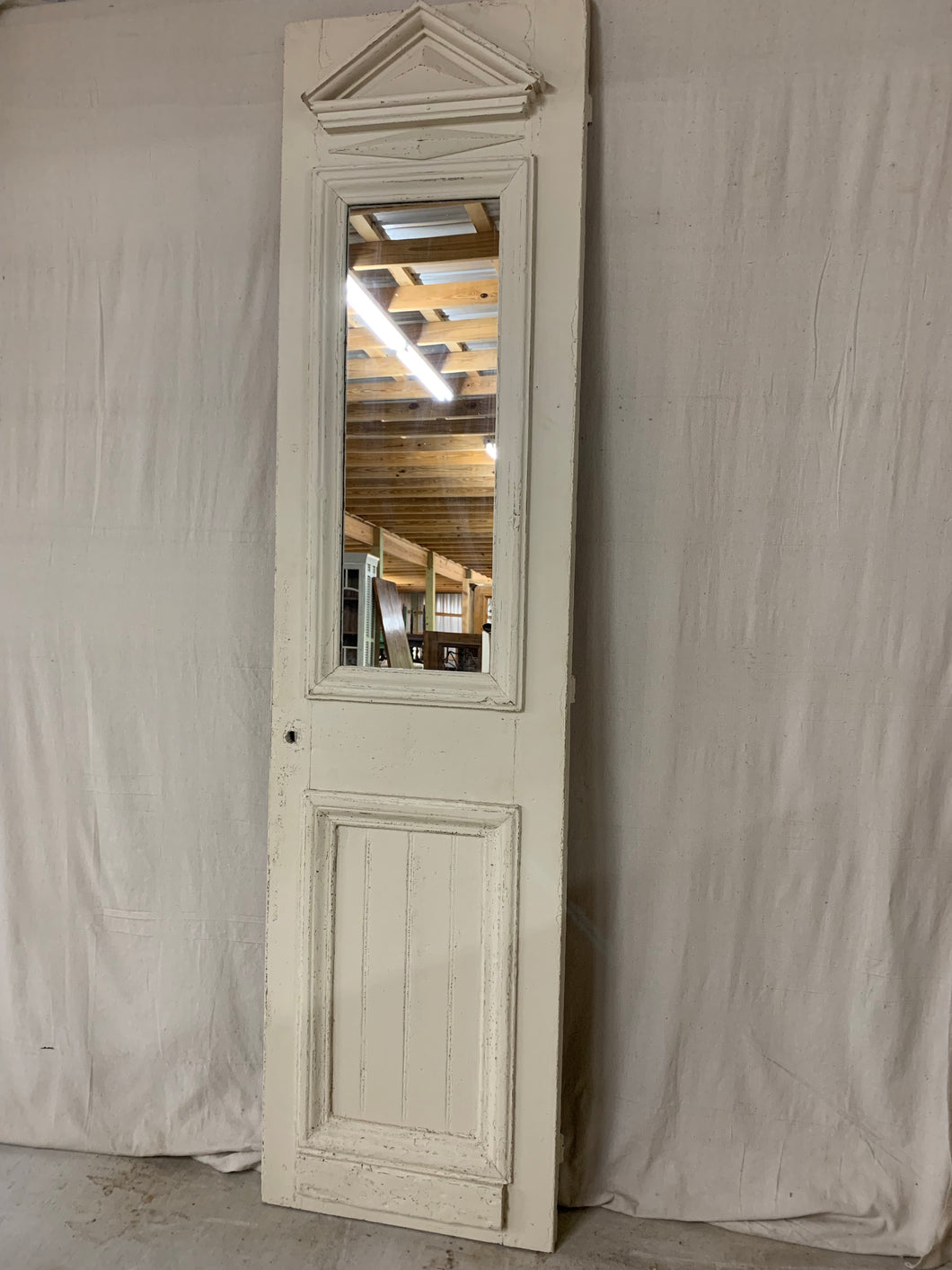 French 1880's Door made into a Mirror
